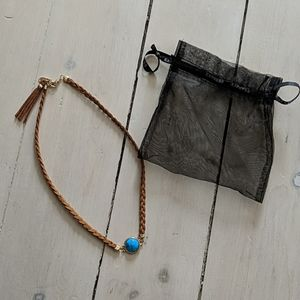 Express Leather Necklace